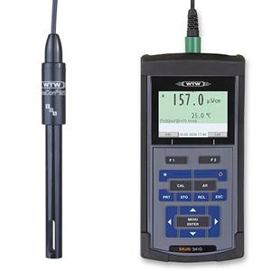 德国WTW-水质分析仪Mutli 3410电导率测定仪