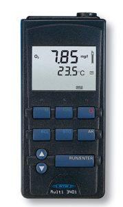 德国WTW Multi 340i手持式PH-溶解氧-电导率测试仪